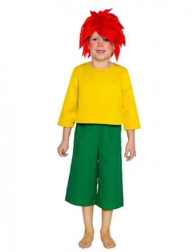Pumuckl™ Kostüm für Kinder grün-gelb