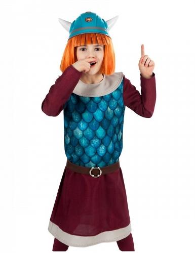 Wickie™-Kinderkostüm Kinderserie braun-blau-grau