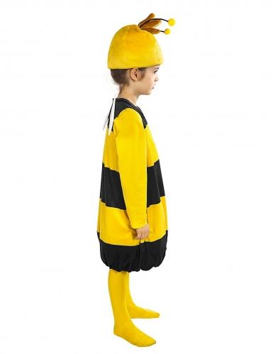 Willi™-Kostüm für Kinder Biene Maja™-Lizenzkostüm gelb-schwarz-1