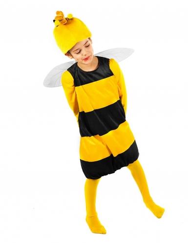 Willi™-Kostüm für Kinder Biene Maja™-Lizenzkostüm gelb-schwarz-2
