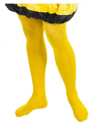 Biene Maja™ Strumpfhose für Erwachsene gelb-1