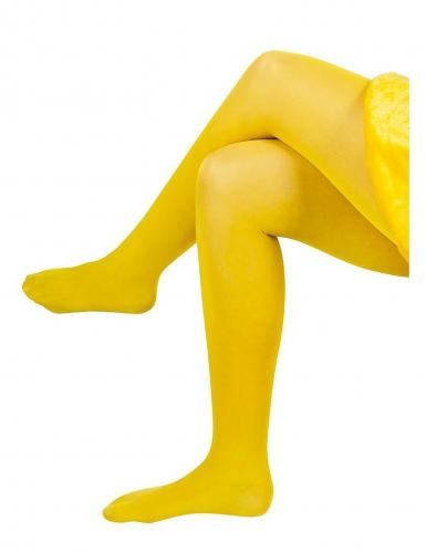 Biene Maja™ Strumpfhose für Erwachsene gelb-2