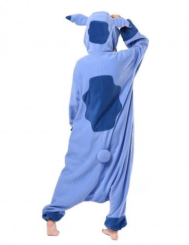Kigurumi™ Lilo & Stitch™-Overall Kostüm für Erwachsene flieder-blau-1