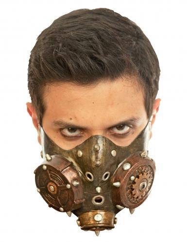 Steampunk Gasmaske für Erwachsene Halloweenzubehör