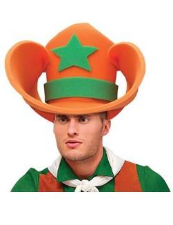 Riesiger Cowboy Hut aus Schaumstoff für Erwachsene Humor