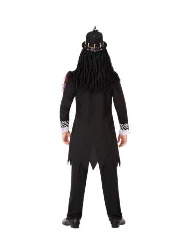 Voodoo-Priester-Herrenkostüm schwarz-2