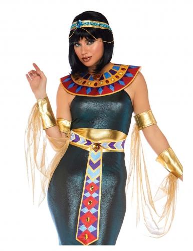 Ägyptische-Pharaonin Damenkostüm für Karneval bunt-2