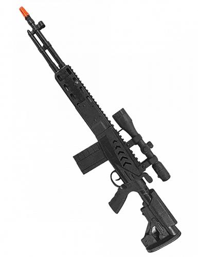 Spiezeug-Gewehr Kostümzubehör für Kinder schwarz 71 cm
