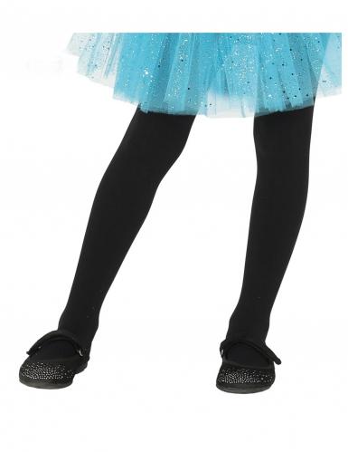 Klassische Strumpfhose Kostümzubehör für Kinder schwarz