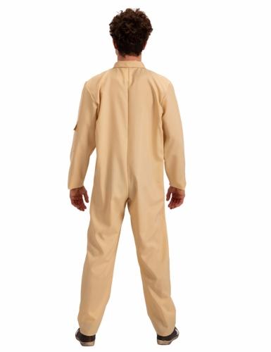 Geisterjäger Kostüm für Herren Halloween beige-1