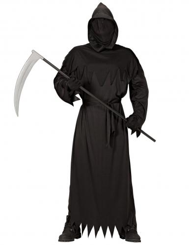 Tot-Kostüm für Herren Halloween-Verkleidung schwarz