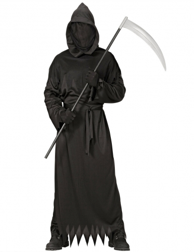 Tot-Kostüm für Herren Halloween-Verkleidung schwarz-1