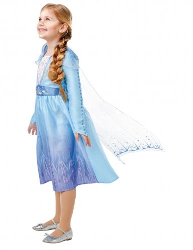 Elsa Frozen 2™-Kostüm für Mädchen Lizenz-Kostüm blau-lila-1