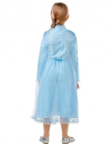 Elsa Frozen 2™-Kostüm für Mädchen Lizenz-Kostüm blau-lila-2