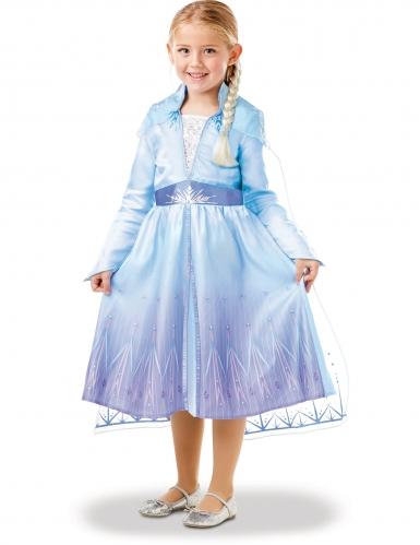 Frozen 2™-Elsa-Kleid für Mädchen Disney-Verkleidung blau-lila-3