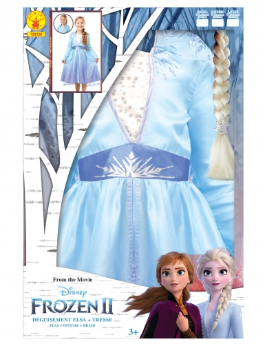 Frozen 2™-Elsa-Kleid für Mädchen Disney-Verkleidung blau-lila-4
