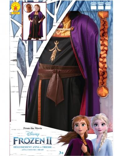 Frozen 2™ Prinzessin-Anna-Kostüm für Mädchen Disney-Verkleidung bunt-3