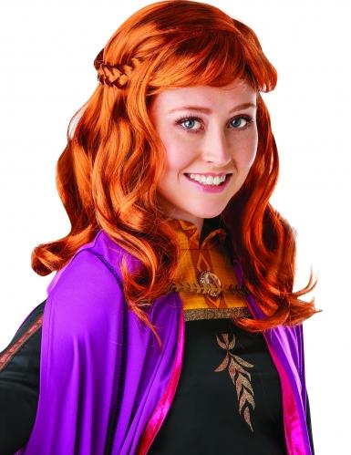 Disney Frozen 2™-Anna-Perücke für Damen orangefarben