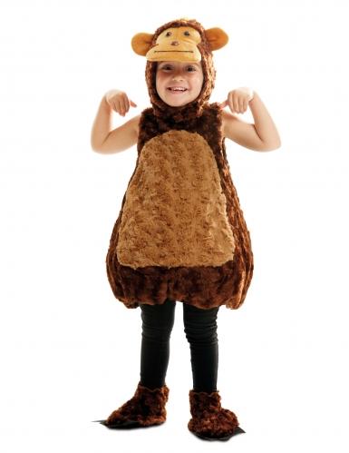 Affen-Kostüm für Kinder Tier-Verkleidung braun