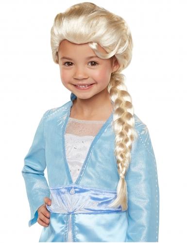 Deluxe Elsa™-Perücke für Mädchen Disney-Zubehör weiss-blond