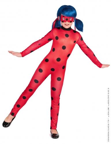 Offizielles Ladybug Miraculous™-Kostüm-Set für Kinder 5-teilig rot-schwarz-1