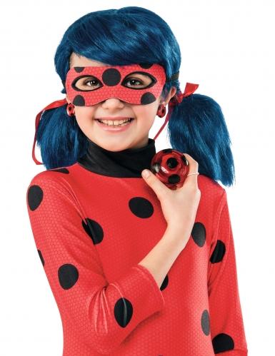 Offizielles Ladybug Miraculous™-Kostüm-Set für Kinder 5-teilig rot-schwarz-2
