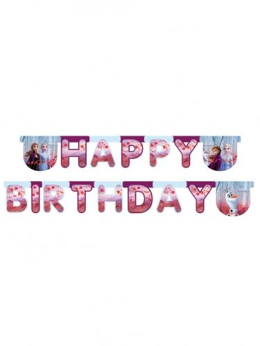 Disney Frozen 2™-Happy Birthday-Girlande Raumdeko bunt 200 x 16cm
