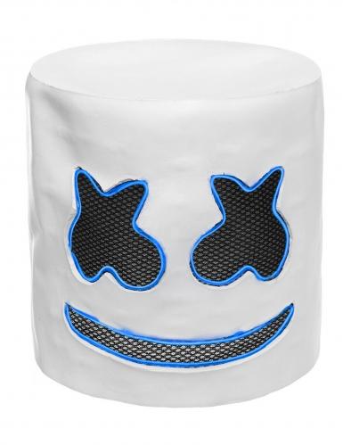 Auffällige LED-Maske für Fasching DJ-Zubehör blau-3