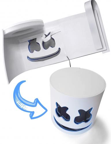 Auffällige LED-Maske für Fasching DJ-Zubehör blau-2