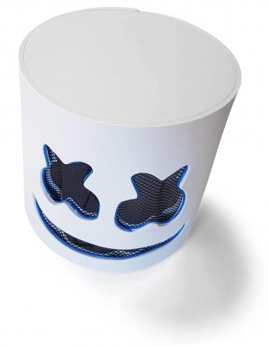 Auffällige LED-Maske für Fasching DJ-Zubehör blau-4