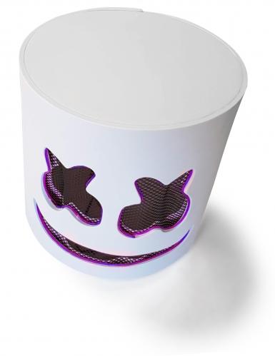 Leuchtende LED-Maske DJ Festival-Accessoire violett-4