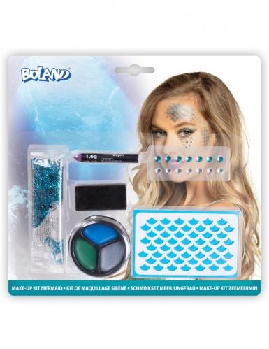 Meerjungfrau Make-up Kit 6-teilig bunt