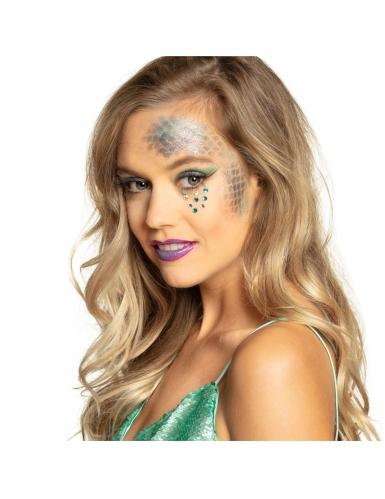 Meerjungfrau Make-up Kit 6-teilig bunt-1