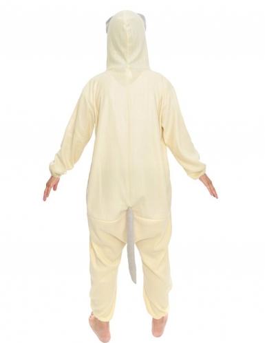 Grumpy Cat™-Overall Kostüm für Kinder Tier-Overall beige-grau-1