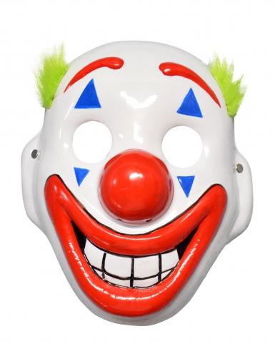 LED-Clownmaske für Fasching und Halloween bunt-1