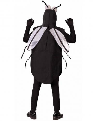 Lustiges Fliegen-Kostüm für Herren Karnevals-Verkleidung schwarz-1