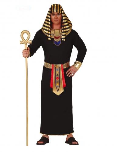 Pharao-Kostüm Antike-Verkleidung für Herren schwarz-gold