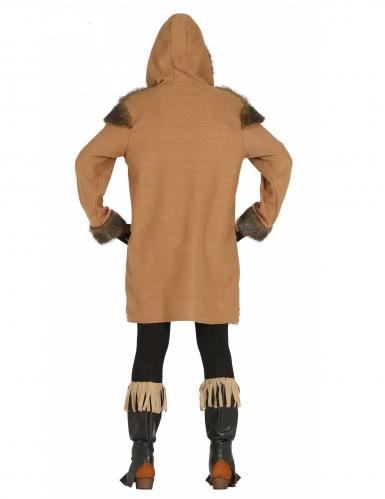Eskimo-Kostüm für Damen Inuit-Verkleidung für Karneval braun-1