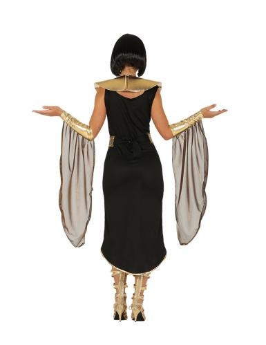 Ägyptisches-Damenkostüm Pharaonin für Karneval schwarz-gold-rot-1