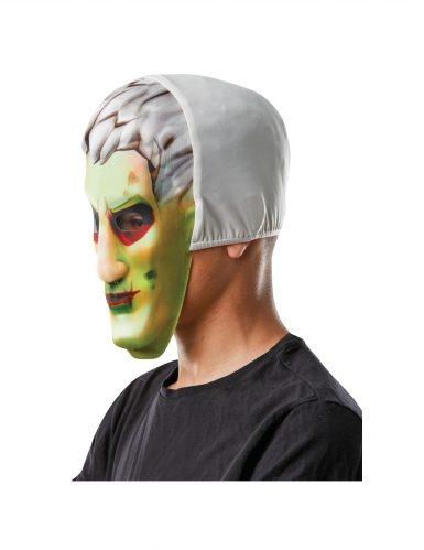 Brainiac™-Fortnite™-Maske für Kinder Game-Accessoire grün -1