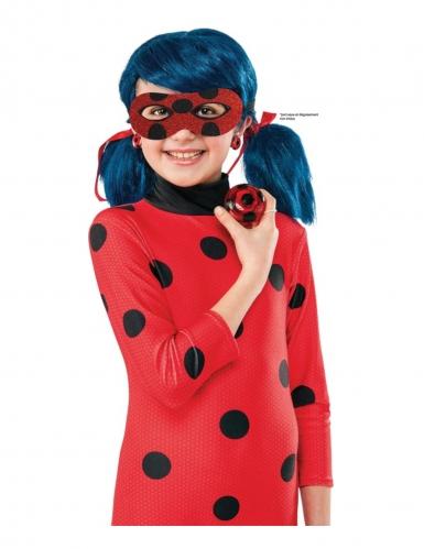 Miraculous™-Kostüm-Set Ladybug™ 3-teilig für Kinder rot- schwarz