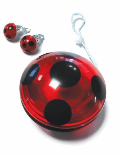 Miraculous™-Kostüm-Set Ladybug™ 3-teilig für Kinder rot- schwarz-2