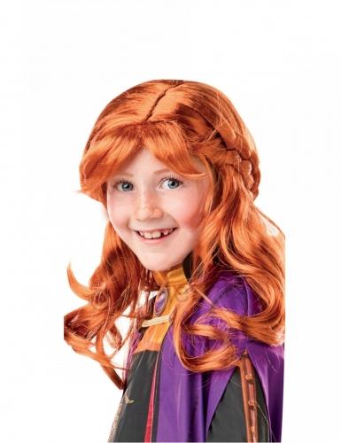 Frozen2™ Anna-Perücke Kostüm-Accessoire rotbraun