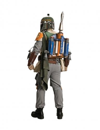 Boba Fett™-Kostüm für Herren Collectors Edition Faschingskostüm grün-grau-orange-1
