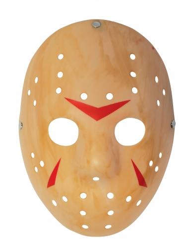 Jason Voorhees™-Maske Freitag der 13. ™ für Erwachsene beigefarben