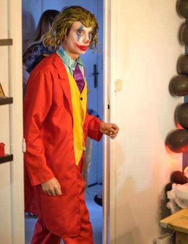 Joker™-Perücke Film-Accessoire für Erwachsene grün-1