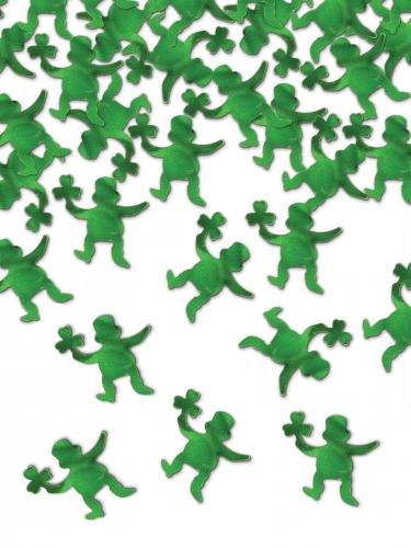 Leprechaun-Konfetti St. Patrick's Day grün 42 g