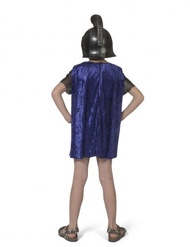 Antikes Römer-Kostüm für Kinder Faschings-Verkleidung schwarz-blau-1