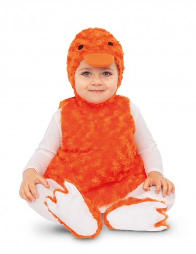 Süßes Enten-Kostüm für Babys Kleinkinder-Kostüm orange