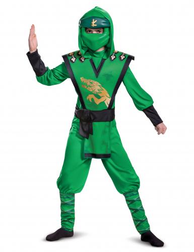 Lloyd-Kostüm Ninjago™ Legacy für Kinder gün-schwarz-gold